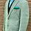 Thumbnail: CR1242   Harrods Flap-Pocket Sportcoat in Olive/Cream Windowpane