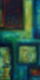 Green Abstract Art