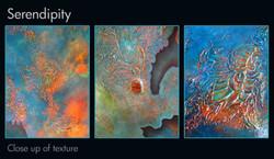 Serendipity close up of textures