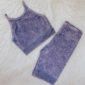 Blue Tie Dye Set
