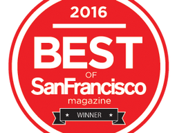 2016 WINNER of San Francisco Magazine:     CURLY HAIR STYLIST