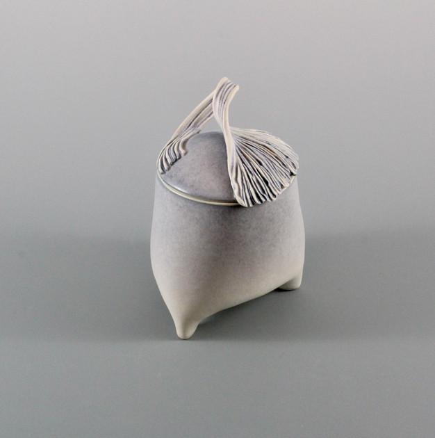 Ginko Jar by Margo Zak