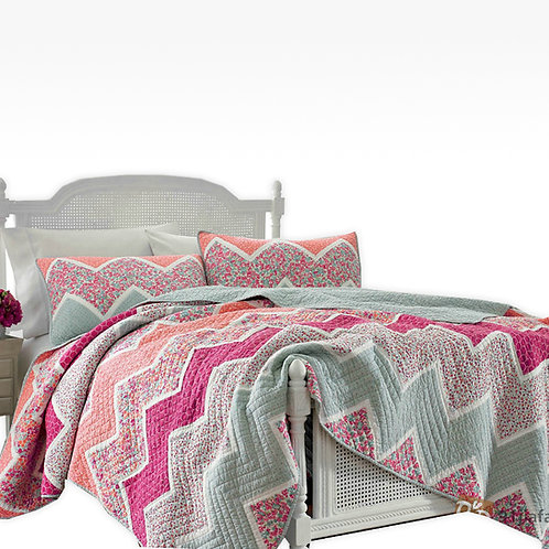 Colcha quilted Cacharel