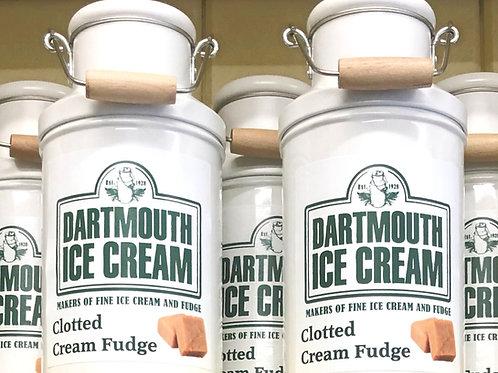 Clotted Cream Fudge Milk Churn