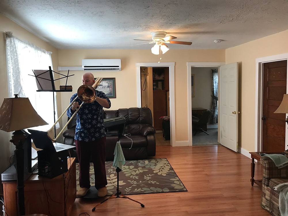 A random Air Bnb house in VA- Practicing on the Road