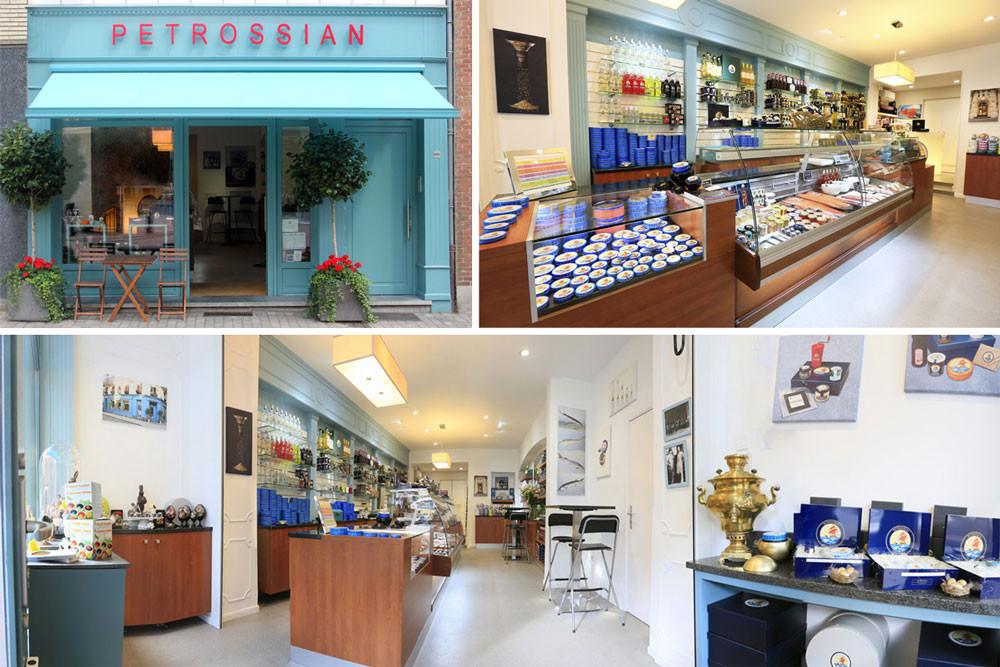 Petrossian caviar Uccle Bruxelles Vanderkindere ASBL Odessa Art&Food Bascule