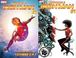 Invincible Iron Man #1 (2016)