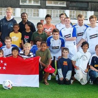 I.S.Academy Singapore with Glasgow Rangers pre season game