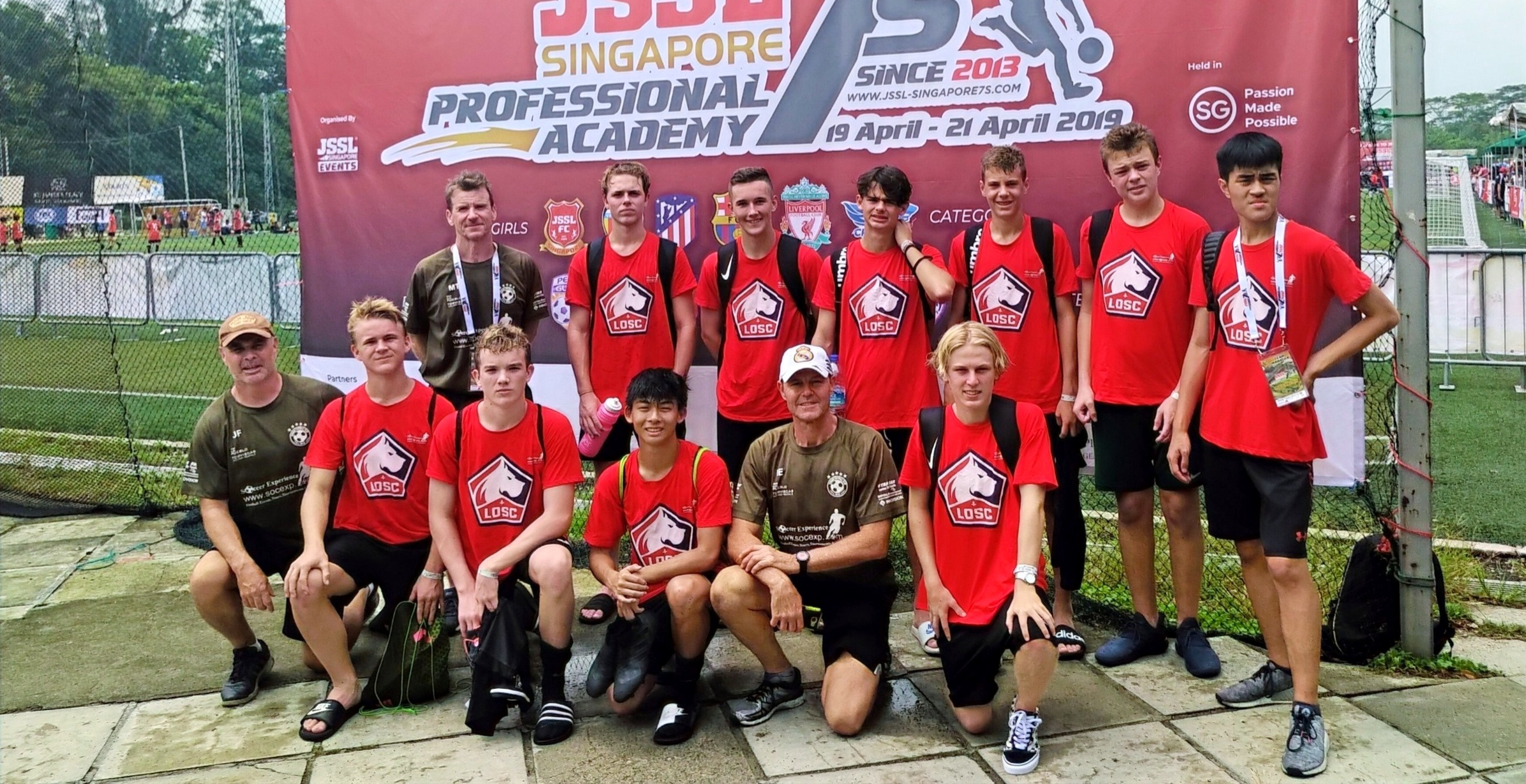 2019 ELITE YOUTH TEAM SINGAPORE