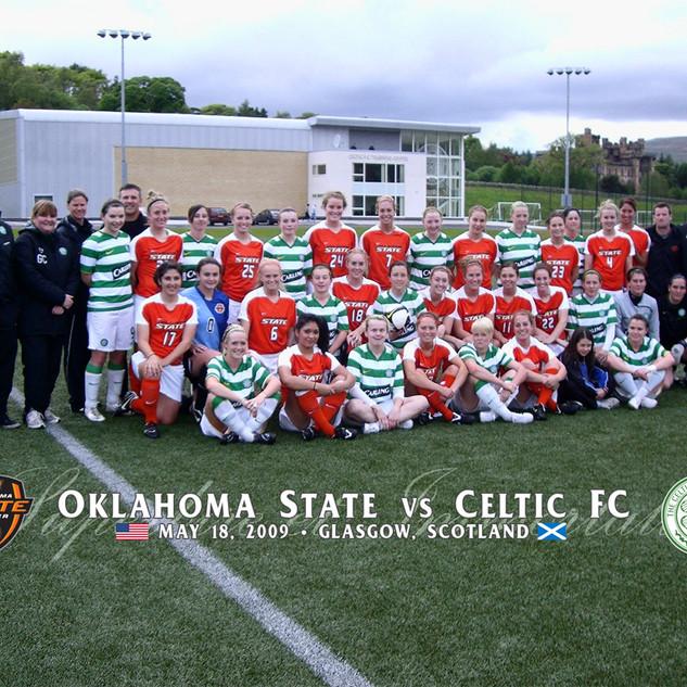 OSU V Glasgow Celtic Ladies