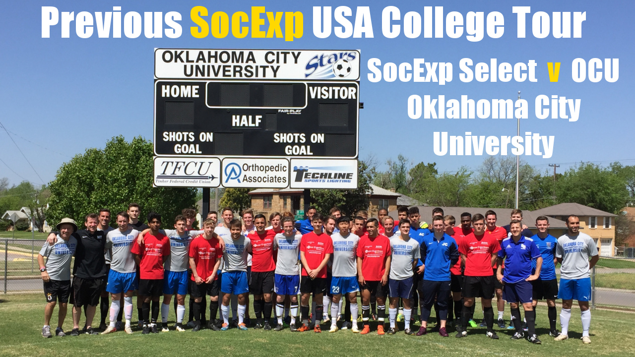 TAKING PLAYERS TO THE USA ON SOCCER SCHOLARSHIP FACT FINDING TOURS