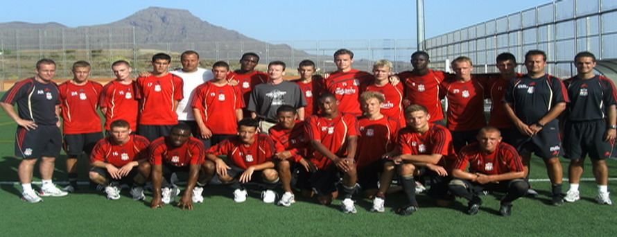LIVERPOOL FC U18s in Spain