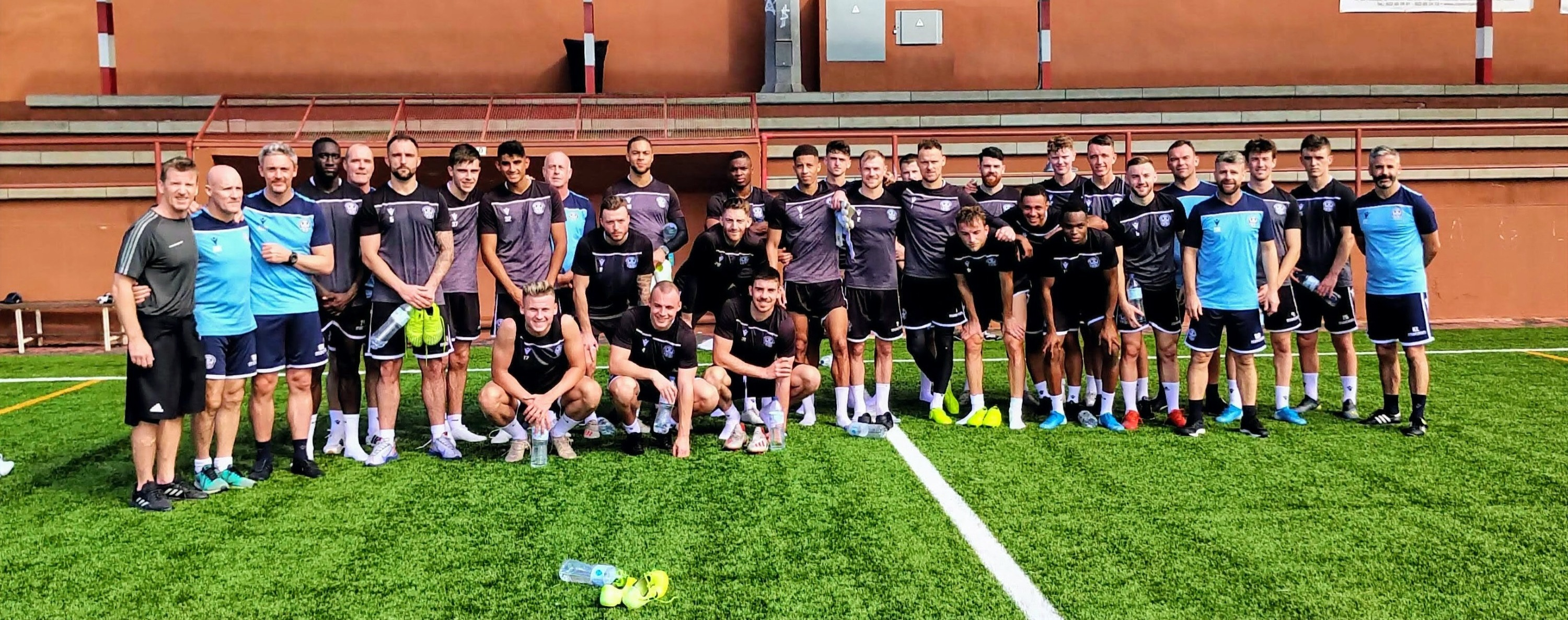 SCOTTISH PREMIER LEAGUE TEAMS WORK WITH US FOR SPANISH TRAINING CAMPS