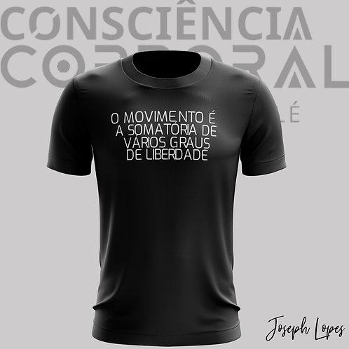 Camisa Baby Look - O Movimento é a...