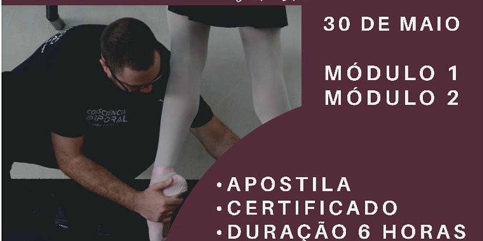 Consciência Corporal Aplicada ao Balé dia 30 de Maio em São Paulo