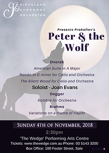 GSO Peter and the Wolf Sale CORRECT DATE