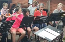 CRASHENDO!  practising with Gippsland Sy