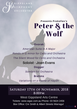 GSO Peter and the Wolf Warragul