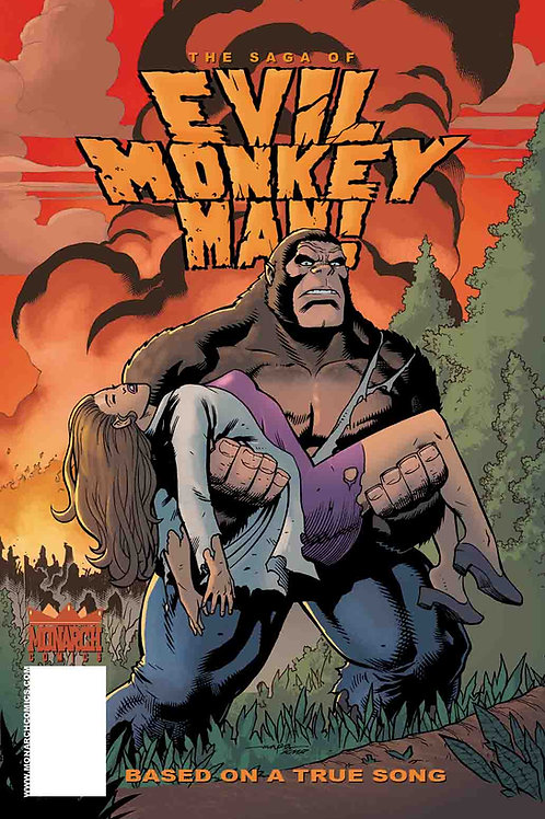THE SAGA OF EVIL MONKEY MAN 1