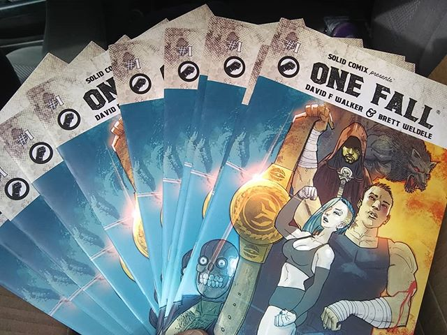 Fresh copies of ONE FALL _solidcomixdfw