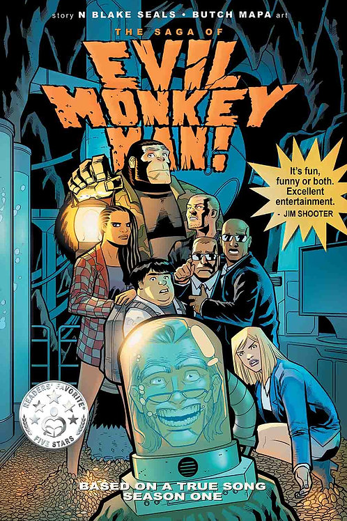 THE SAGA OF EVIL MONKEY MAN TPB VOL. 1