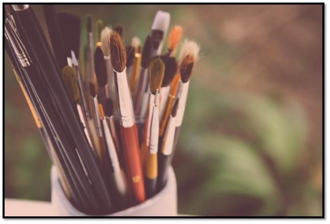 art brushes