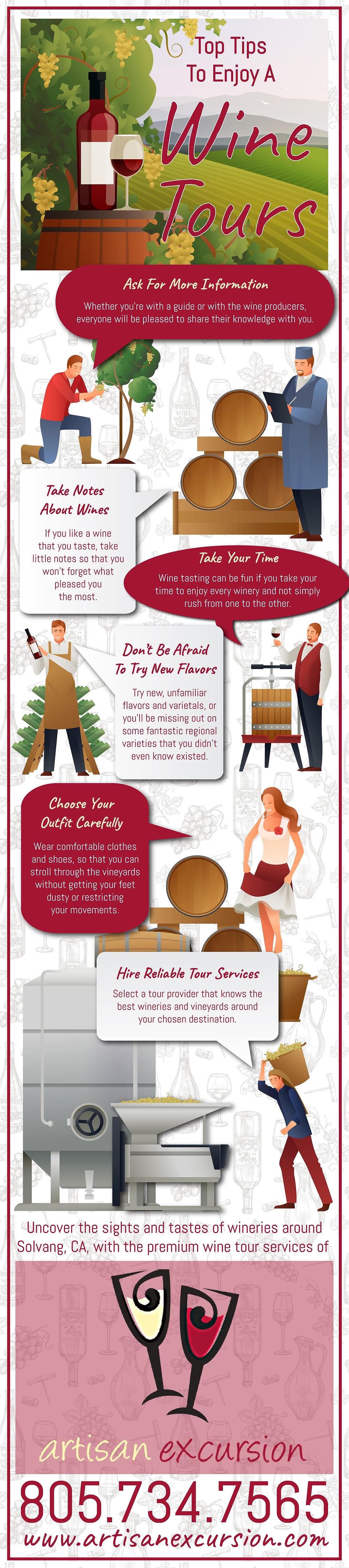 wine tour tips