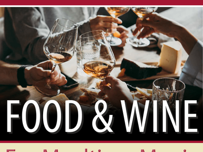 Your Guide To Pairing Food & Wine