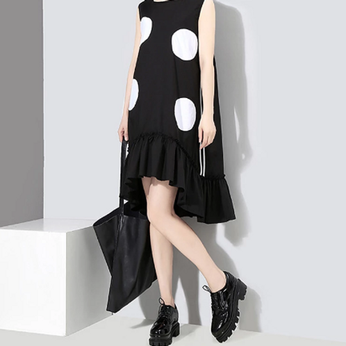 Summer Woman Sleeveless Dress