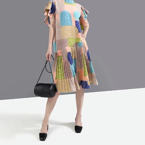 Short Sleeve Woman Summer Dress