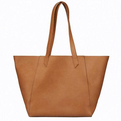 Hybrid Tote Camel – Shoulder Vegan Bag