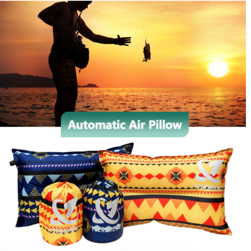 """11.4"""" x 18.1"""" Camping Inflatable Pillow"""
