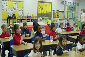 Children in a Classroom is an example of Parallel Level Participation