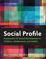 The Social Profile is a measure of social participation in activity groups that range from the family, to schools, to clinics, to clubs, cultural groups, sports groups and community groups
