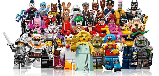 Minifigure crowd