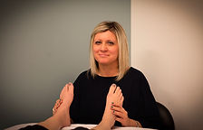 Szilvia Girincsi, certified reflexologist