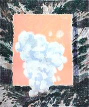 하얀조각으로부터 시작된 풍경, acrylic on canvas, 45.5