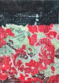 붉은 꽃(red flower), acrylic on canvas, 34.