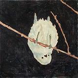 자국_물구나무서기, acrylic on canvas, 30x30, 2020
