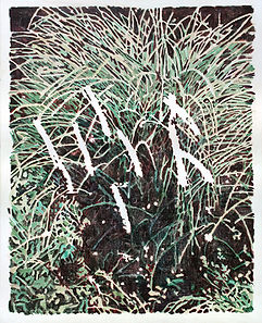 empty flower, acrylic on canvas, 100x80.