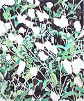 empty flower, acrylic on canvas, 45.5x37