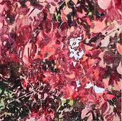 붉은 자국, acrylic on canvas 50x50, 2019.jpg