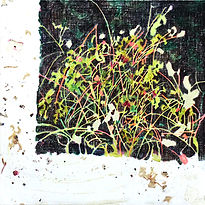 empty flower, acrylic on canvas, 60x60,