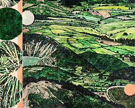 ○○이 머문 자리,acrylic on canvas, 130.2x162.2cm, 2020