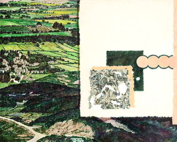 00이 머문 자리4,acrylic on canvas, 130.3x1602