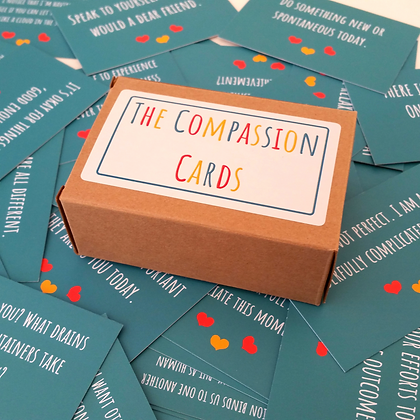 Compassion Cards (with MP3 download for cultivating compassion)