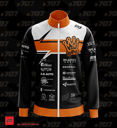 KPR #707 sublimation zip up top