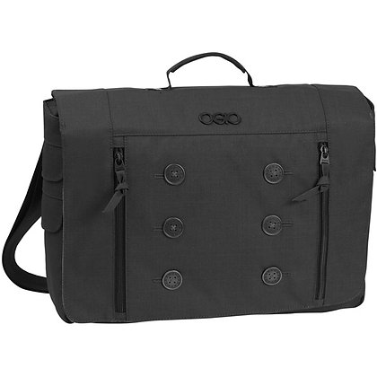 Midtown Messenger Bag Womens - Black