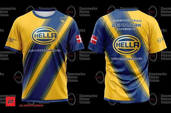 Speedway Team Denmark sublimation t-shirt