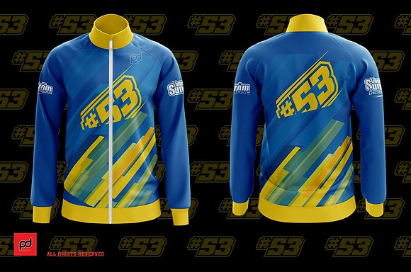 Linus Sundstrom #53 sublimation zip up top